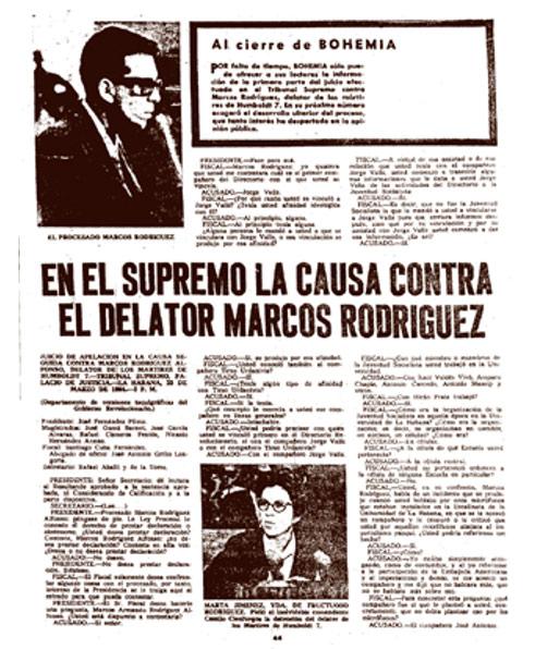 Revista Bohemia del 27 de marzo de 1964.
