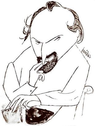 José Álvarez Baragaño, visto por Juan David (1962).
