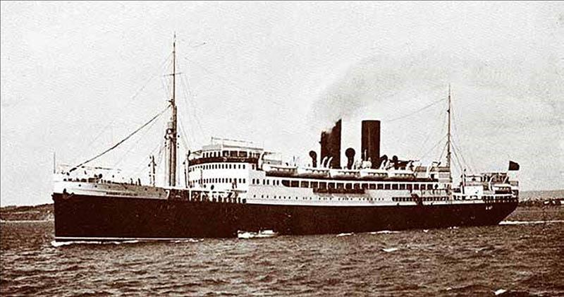 Marqués de Comillas: barco que trasladó a incontables emigrantes españoles a Cuba.