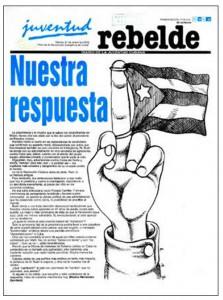 Periódico Juventud Rebelde, La Habana, 24 de enero de 2006, p. 1.