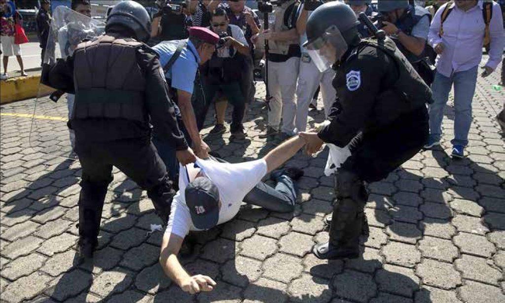 Represión policial en Nicaragua (2018)