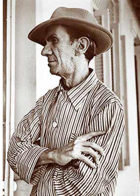 El pintor Fidelio Ponce de León, cuyo fallecimiento motivó el presente artículo de Rafael Suárez Solís en 1949.