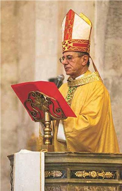 Cardenal Juan de la Caridad García Rodríguez, Arzobispo de La Habana.