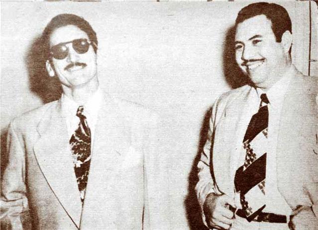 Orlando León Lemus (El Colorado) y Policarpo Soler.