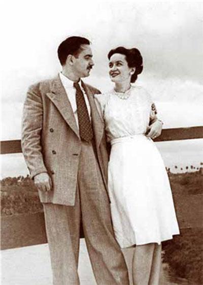 Eliseo Diego y Bella García Marruz.