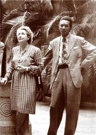 Lydia Cabrera y Wifredo Lam.