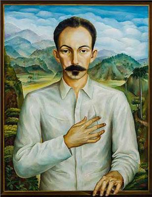 José Martí visto por Jorge Arche.
